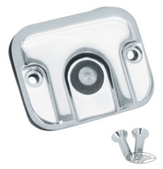 CHROME MASTER CYLINDER COVER 1996 STYLE