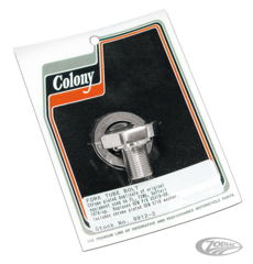 COLONY FORK TUBE CAP BOLT FOR LATE WIDE GLIDE FORKS