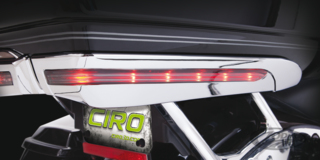 "CIRO TOP CASE ""LED"" ZIERBLENDEN"