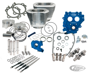 KITS S&S 100CI ET 110CI POWER PACKS POUR TWIN CAM