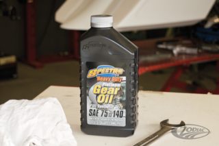 SPECTRO'S HEAVY DUTY PLATINUM FULL SYNTHETIC TRANSMISSION OIL