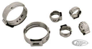 OETIKER'S OEM STYLE STAINLESS STEEL HOSE CLAMPS