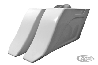 """FLOW"" STRETCHED SADDLEBAGS"