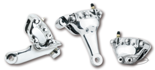 CHROME BRAKE CALIPERS