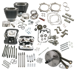KITS S&S 124CI HOT SET POUR TWIN CAM A ET B