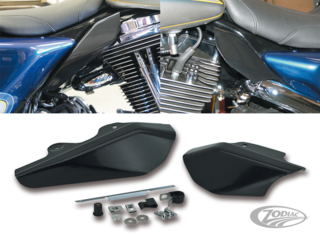 UNDER SEAT MOUNTED AIR DEFLECTORS FOR TOURING MODELS