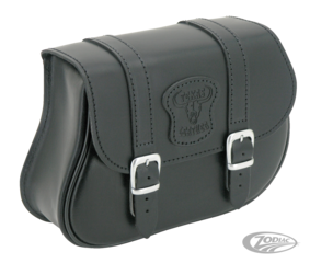 TEXAS LEATHER V-ROD FRAME BAG