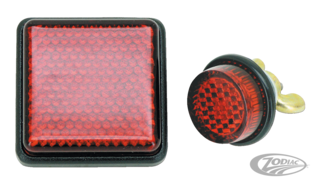 UNIVERSAL RED BOLT-ON REFLECTORS