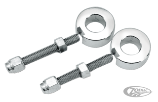 CHROME AXLE ADJUSTERS