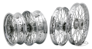 COMPLETE WHEEL ASSEMBLIES WITH ALUMINUM EXCEL RIMS