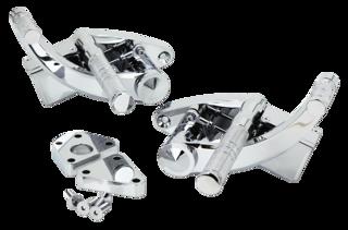 CHROME FORWARD CONTROLS WITH HYDRAULIC FOOT CLUTCH