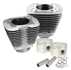 S&S EVOLUTION BIG TWIN STOCK REPLACEMENT CYLINDER KITS