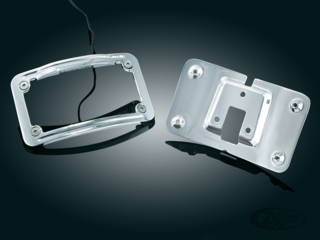 KÜRYAKYN LED LIGHTED CURVED LICENSE PLATE FRAME