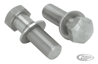 STAINLESS STEEL SWINGARM PIVOT BOLTS FOR SOFTAILS