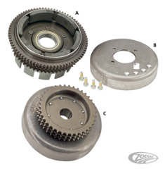 SPORTSTER ALTERNATOR ROTORS