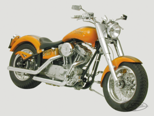 ZODIAC'S FAT TUBE DRAGSTER STYLE SOFTAIL FRAME KIT