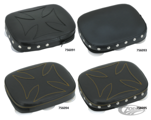 HOOLIGAN'S QUICK-DETACHABLE PILLION PADS