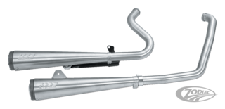 SUPERTRAPP 2-INTO-2 MEGAPHONE EXHAUST SYSTEM WITH LOW EXIT