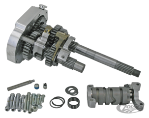 ZODIAC'S 6 SPEED CONVERSION KITS FOR BIG TWIN 5 SPEED TRANSMISSIONS AND COMPLETE 6 SPEED SOFTAIL TRANSMISSIONS