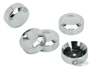 CHROME SPROCKET BOLT COVER KIT