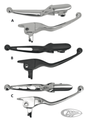 HANDLEBAR LEVERS FOR TOURING
