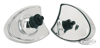 FAIRING MOUNTED MIRRORS FOR TOURING MODELS