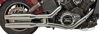 POTS SUPERTRAPP SLIP ON POUR INDIAN SCOUT