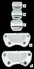 MOUNTS FOR DAKOTA DIGITAL FLAT OVAL METERS