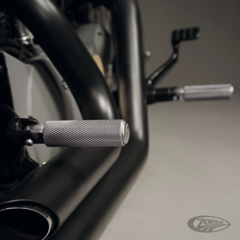 BLACK DUCK KNURLED FOOT AND SHIFTER PEGS