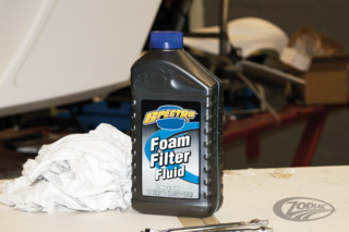 SPECTRO FILTER OIL FOR FOAM FILTERS