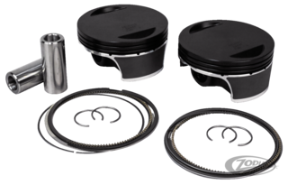 WISECO PISTONS FOR FOR TWIN CAM 103 & MOUNT RUSHMORE