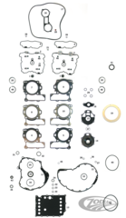 GASKET KITS, GASKETS, SEALS AND O-RINGS FOR V-ROD