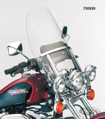 NATIONAL CYCLE'S NARROW FRAME HEAVY DUTY WINDSHIELDS