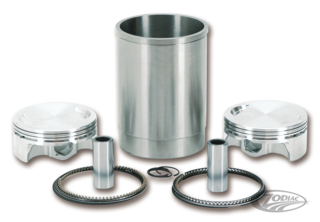 "WISECO 110 CI SLEEPER KIT WITH 4"" BIG BORE PISTONS FOR TWIN CAM"