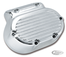 CHROME PLATED FINNED TRANSMISSION SIDE COVER