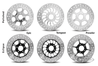 RC COMPONENTS DISC BRAKE ROTORS