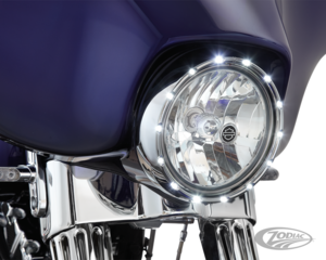 CARCLAGE DE PHARES 7'' LED ARLEN NESS FIRE-RING