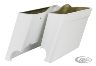 DOUBLE G BAGGERS FIBERGLASS POLICE STYLE SADDLEBAGS FOR TOURING MODELS