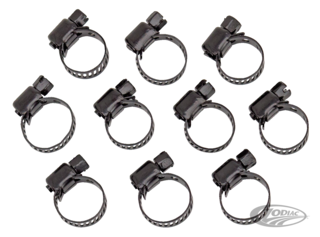 JAGG BLACK HOSE CLAMPS