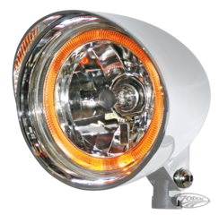 "5 3/4"" FLAME THROWER HEADLIGHT"