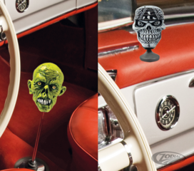 LETHAL THREAT SHIFT KNOB AND DECOR ORNAMENTS