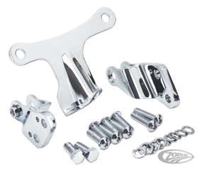 CHROME MOTOR MOUNT KIT FOR 2004 TO PRESENT SPORTSTER