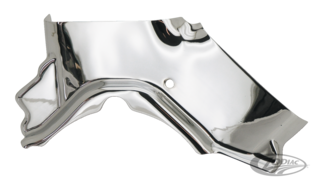 CHROME CYLINDER BASE COVER FOR TWIN CAM
