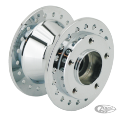 CHROME WHEEL HUBS FOR 2000 TO PRESENT SPORTSTER & DYNA