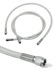 MAGNUM STERLING CHROMITE BRAKE LINES