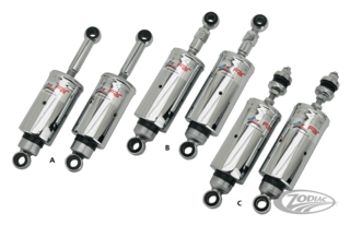 CHROME SOFTAIL SHOCKS
