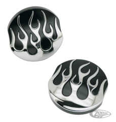 FLAMED GAS CAPS