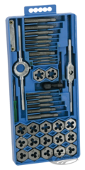 40 PIECES METRIC TAP AND DIE SET
