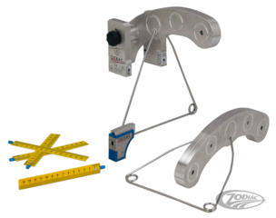 PROFESSIONAL BIKE ALIGNMENT TOOL WITH LASER