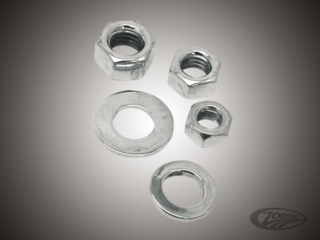 CHROME PLATED NUTS AND WASHERS ASSORTMENT